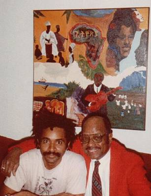 Photograph - O And Slim by Otis L Stanley