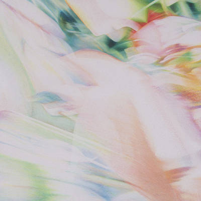 Abstract Hummingbird Painting - Flight by Lynn Bywaters