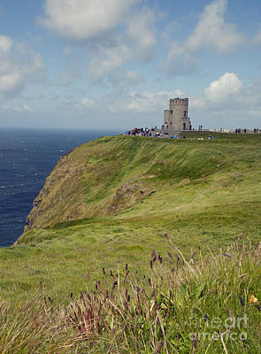 Photograph - O Brien's Tower Cliffs Of Moher by Cindy Murphy - NightVisions