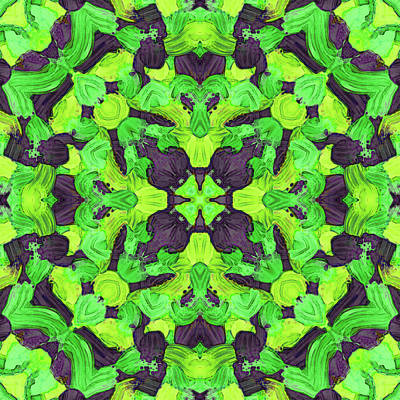 Digital Art - O C T -month- -pattern- by Coded Images