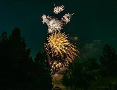 Skyrocket Photograph - O Canada 3 by Steve Harrington