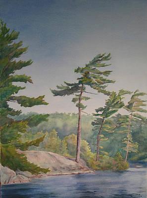 O Canada No.1 Art Print by Debbie Homewood