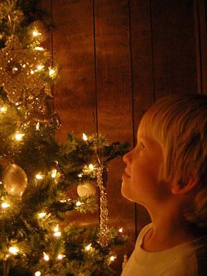 O Christmas Tree Art Print by Deena Keller