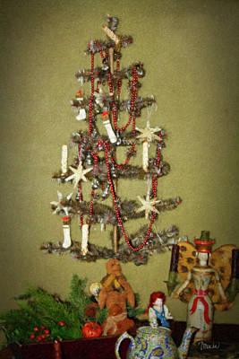 Bisque Ware Digital Art - O Christmas Tree by Teresa Mucha