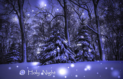 Photograph - O Holy Night by Deb Buchanan