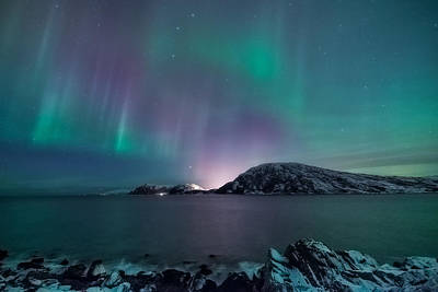 Northern Wall Art - Photograph - O Holy Night by Tor-Ivar Naess