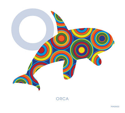 O Is For Orca Art Print