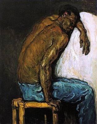 Painting - O Negro Scipio by Paul Cezanne