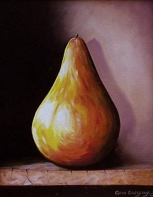 Painting - O Pear by Gene Gregory