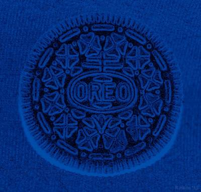 Photograph - O R E O In Blue by Rob Hans