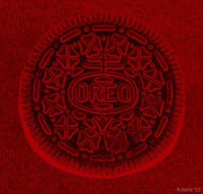 Photograph - O R E O In Red by Rob Hans