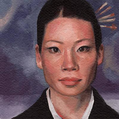 Kill Bill Painting - O-ren Ishii by Elizabeth Reid