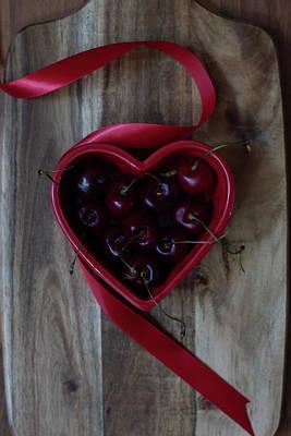 Photograph - O Sweet Cherries by Angela King-Jones