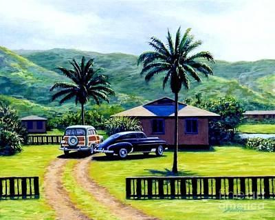 Oahu Afternoon Original by Frank Dalton