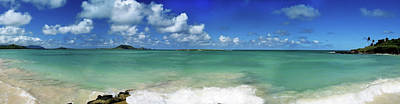 Photograph - Oahu Beach Panorama by Joe  Palermo