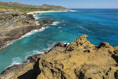 Oahu Coastline Art Print