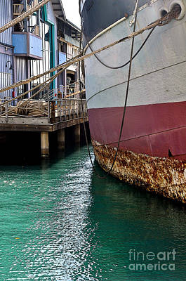 Photograph - Oahu Harbor by Gina Savage