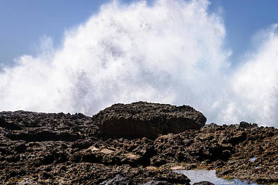 Photograph - Oahu Rocky Beach 2 by Michael Scott