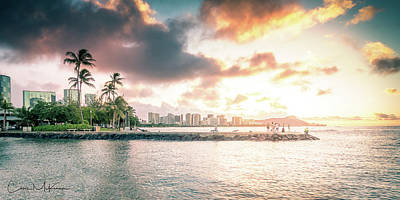 Photograph - Oahu Sunrise by Chris McKenna