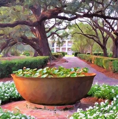 Painting - Oak Alley Plantation Sugar Pot by Tammy Lee Bradley