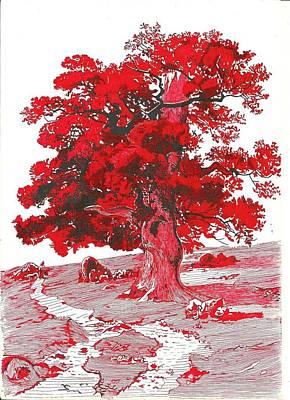Oak Art Print