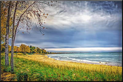 Photograph - Oak Beach Park Michigan by LeeAnn McLaneGoetz McLaneGoetzStudioLLCcom