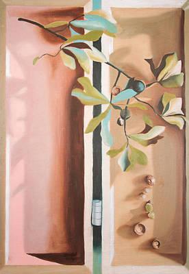 Oak Branch Art Print