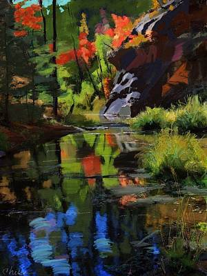 Oak Creek #2 Art Print by Craig Nelson