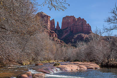 Photograph - Oak Creek And Cathedral Rock by Teresa Wilson