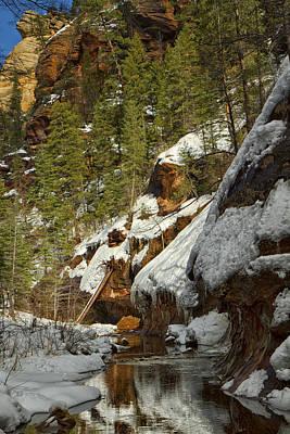 Photograph - Oak Creek Beckons by Tom Kelly