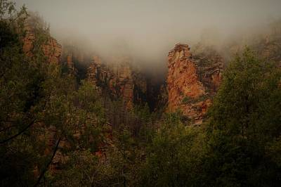 Photograph - Oak Creek Canyon Arizona by Broderick Delaney