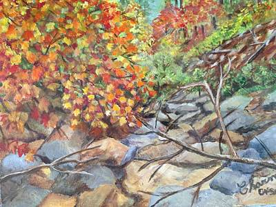 Painting - Oak Creek Canyon by Charme Curtin