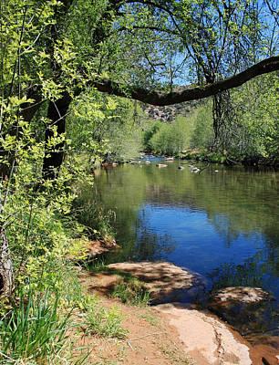 Verde River Photograph - Oak Creek by Ellen Henneke