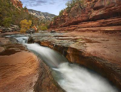 Oak Creek Photograph - Oak Creek In Slide Rock State Park by Tim Fitzharris
