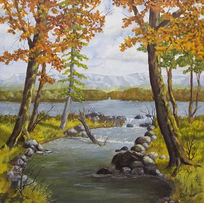 Painting - Oak Creek by Michael Dillon