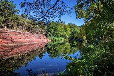 Photograph - Oak Creek Reflections by Lynn Bauer