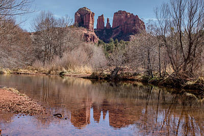 Photograph - Oak Creek Reflections by Teresa Wilson