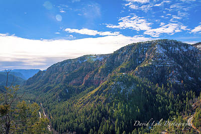 Photograph - Oak Creek Vista by David Lyle