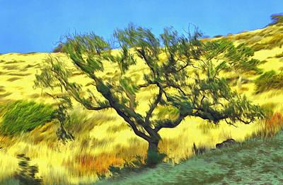 Digital Art - Oak From Agoura Hills by Viktor Savchenko