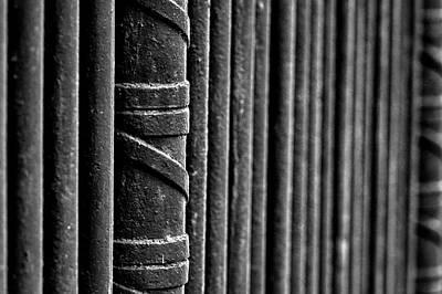 Photograph - Oak Hill Cemetery Fence #2 by Stuart Litoff