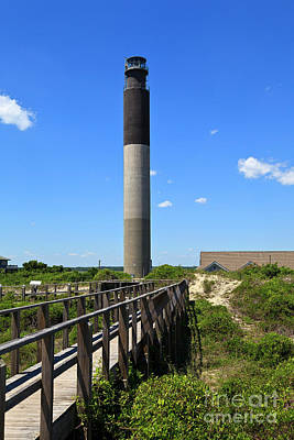 Photograph - Oak Island Lighthouse by Jill Lang
