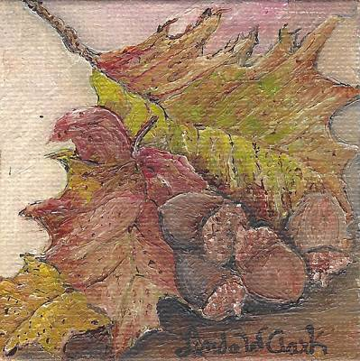 Painting - Oak Leaves by Linda Clark