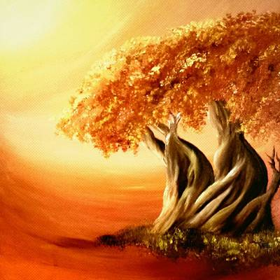 Animal Lover Digital Art - Oak Of Righteousness by Annah Wakesho Mkoji