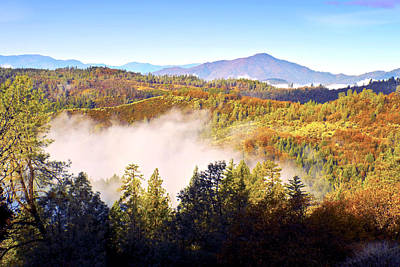 Photograph - Oak Run Mountains by Joyce Dickens