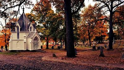 Mausoleum Digital Art - Oak Rust by 2141 Photography