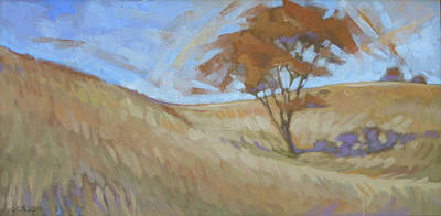 Oak Painting - Oak Savanna, Autumn by Kim Gordon