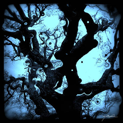 Oak Tree Dream Shot Art Print