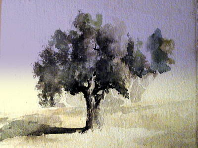 Painting - Oak Tree by Steven Holder