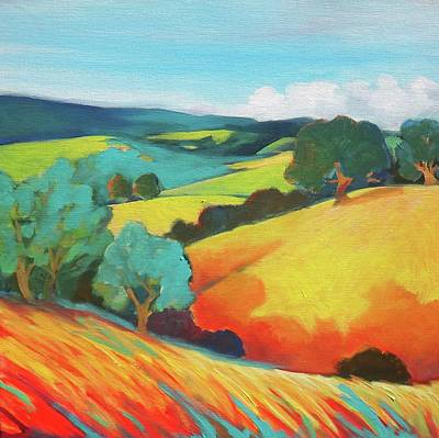 Painting - Oak Valley by Stephanie  Maclean