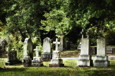 Photograph - Oakdale Cemetery by Denis Lemay